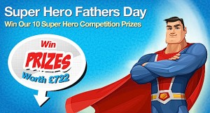 Super Hero Dads we love you!
