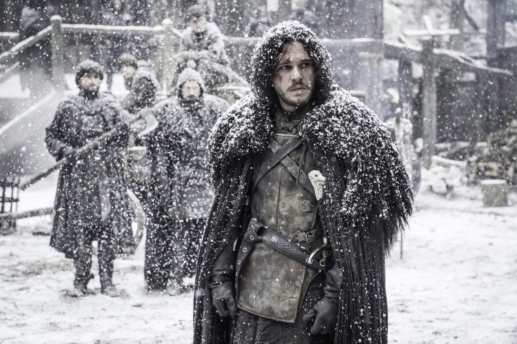 Jon Snow leading the nights watch