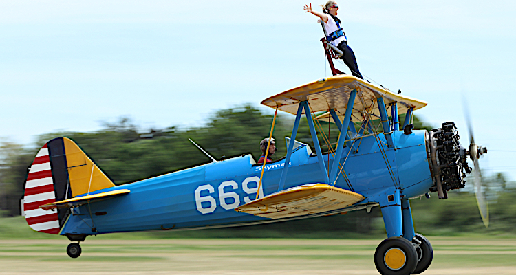 wind in your hair wing walking