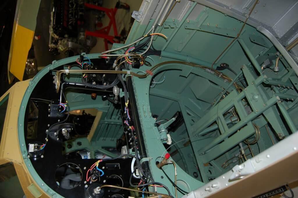 Spitfire Restoration - Cockpit Rebuild.