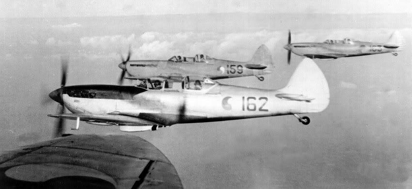 Irish Two Seater Spitfires