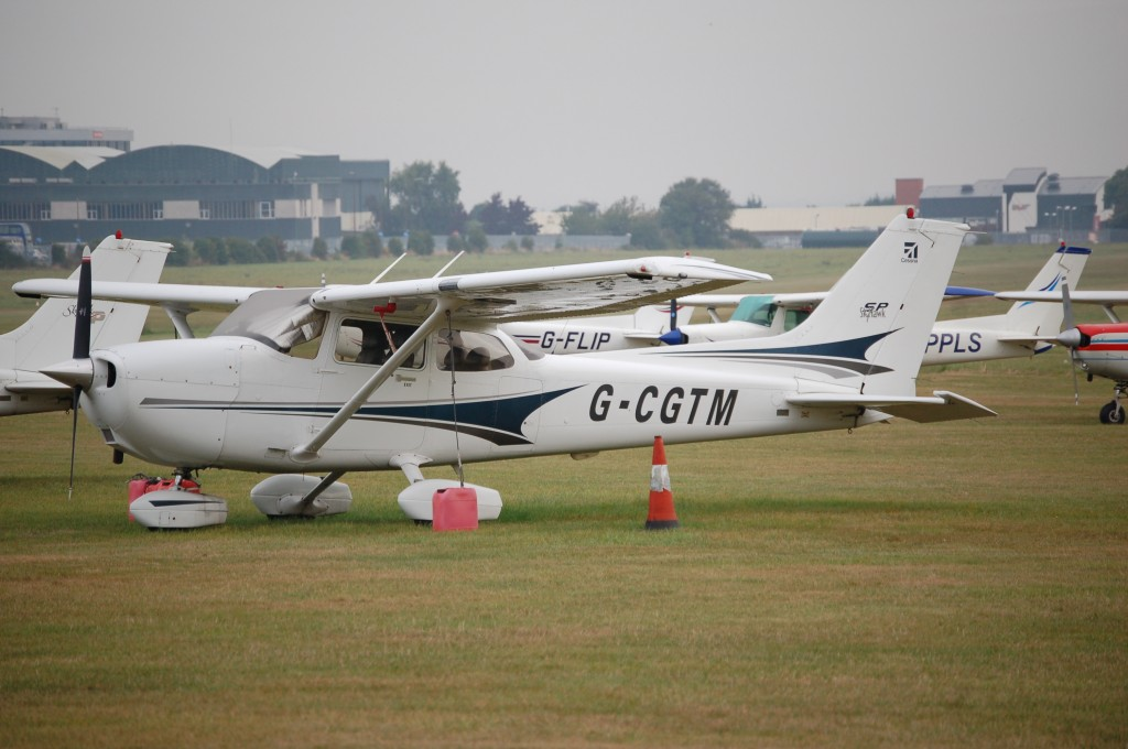 cessena flying lesson aircraft
