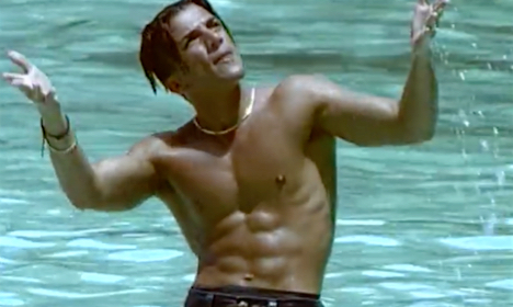 Peter Andre's 1996 hit Mysterious Girl
