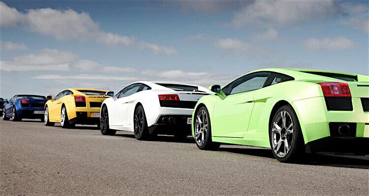 Lamborghini drive win