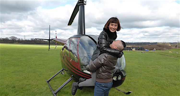 Helicopter lesson for two