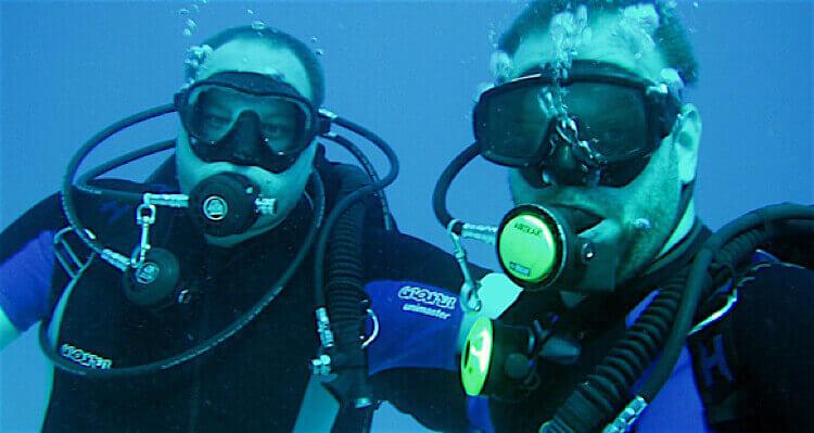 Scuba diving taster