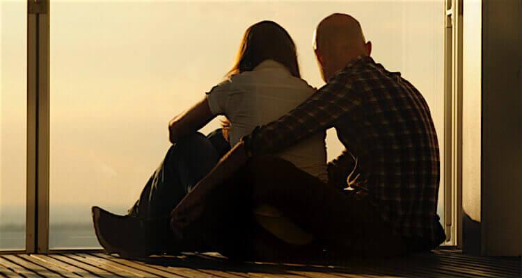 The Shard sunset first date