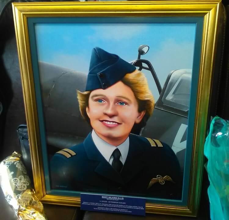 Mary Ellis Spitfire Flights