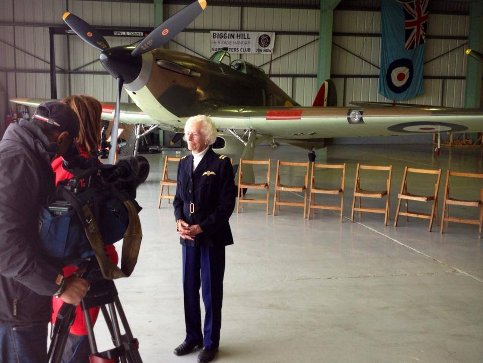 spitfire flights with Mary Ellis
