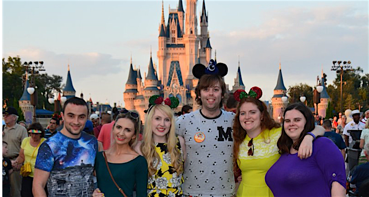A Disney day just for friends and family