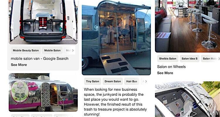 Mobile spas on wheels