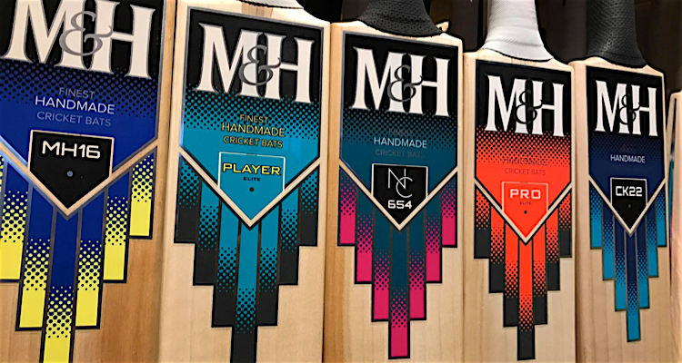 M&H cricket bat
