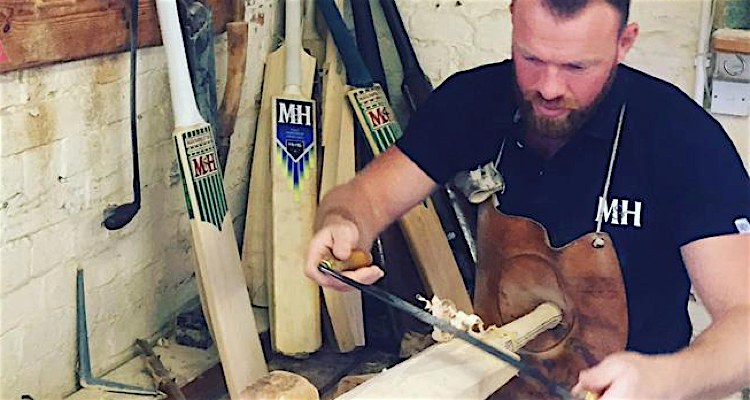 shaping a cricket
