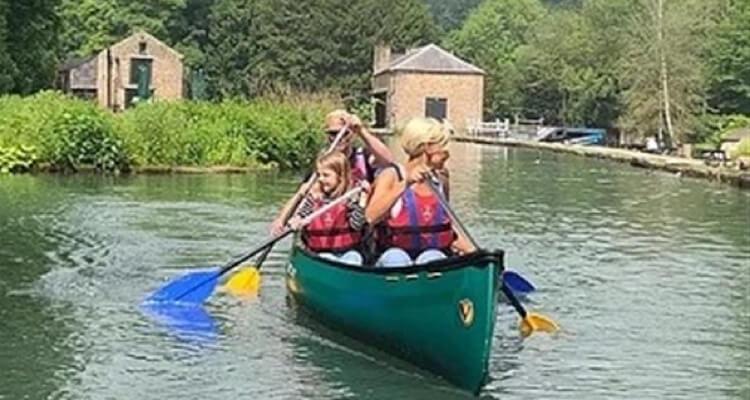 canoeing in london