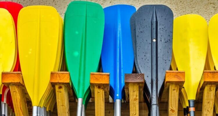 canoe and kayak paddles