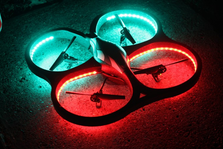 Drone racing ready to start