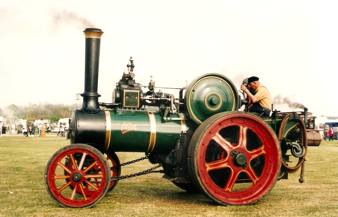 Old Steam Engine Cars
