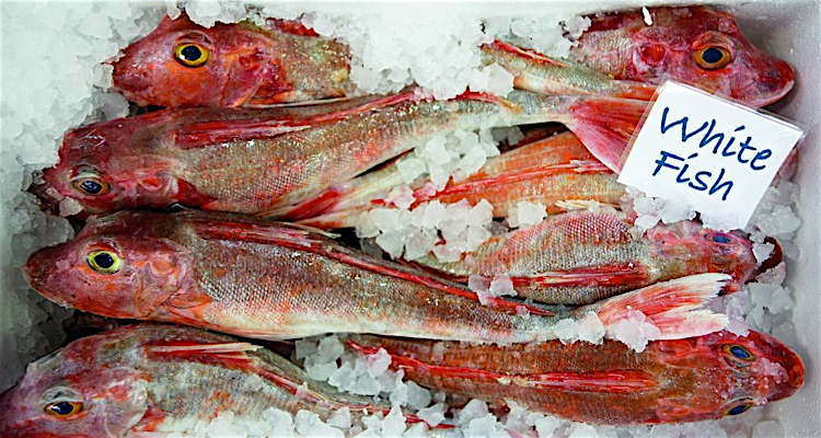 You have to get up early to catch the freshest fish at London's famous Billingsgate Fish Market