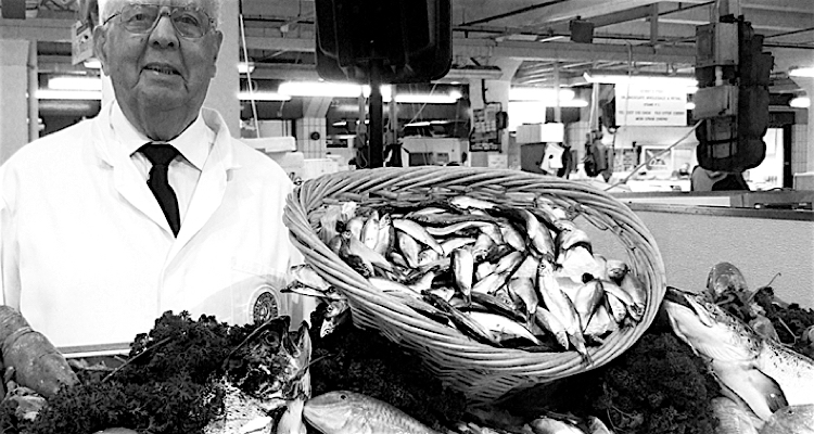 Family traders have been selling fish at Billingsgate for generations