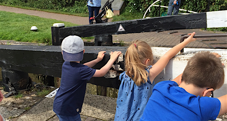 Kids lock keeping - free day out for all the family
