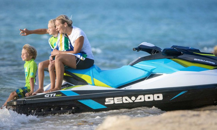 water sports activities jetski