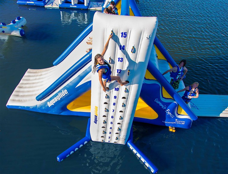 inflatable water parks UK