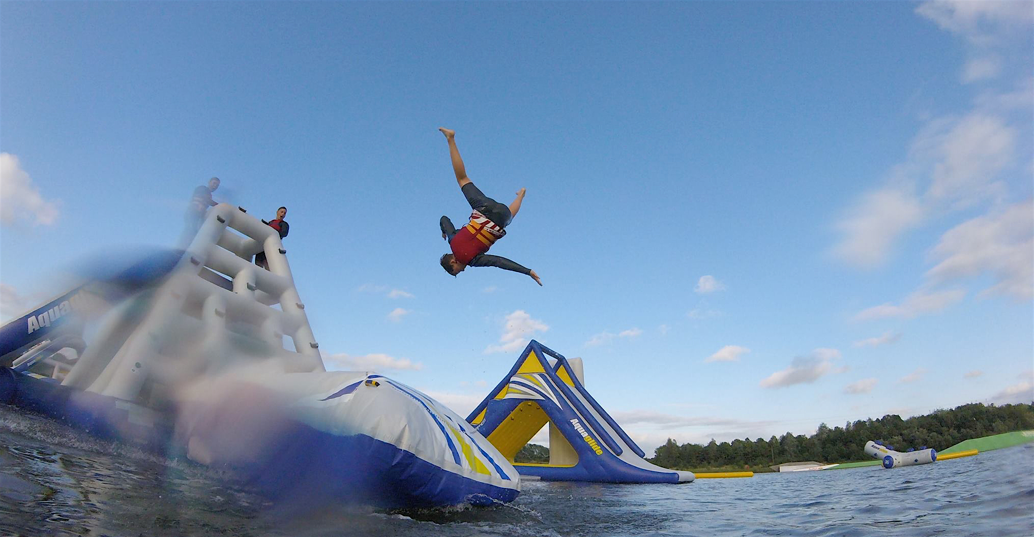 Make A Splash At The Best Inflatable Water Parks In The Uk