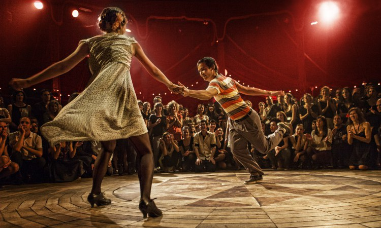 lindy hop jam circle