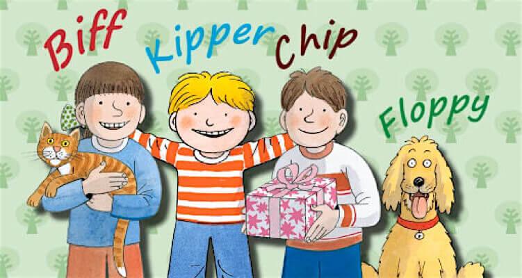 Biff, kipper chip and floppy