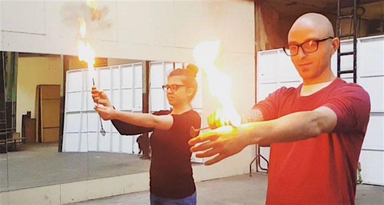fire eating date