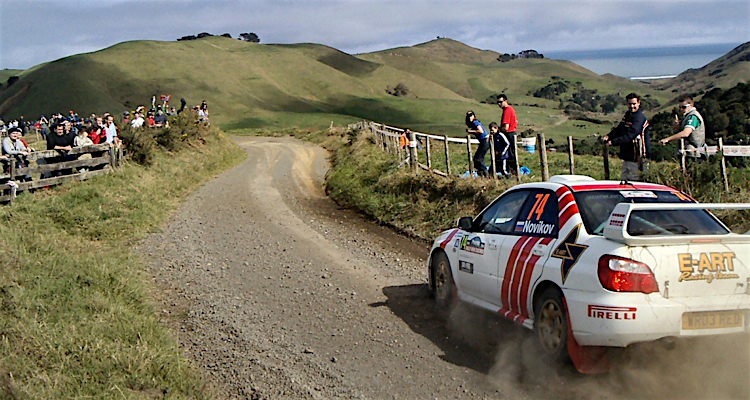Competition rallying