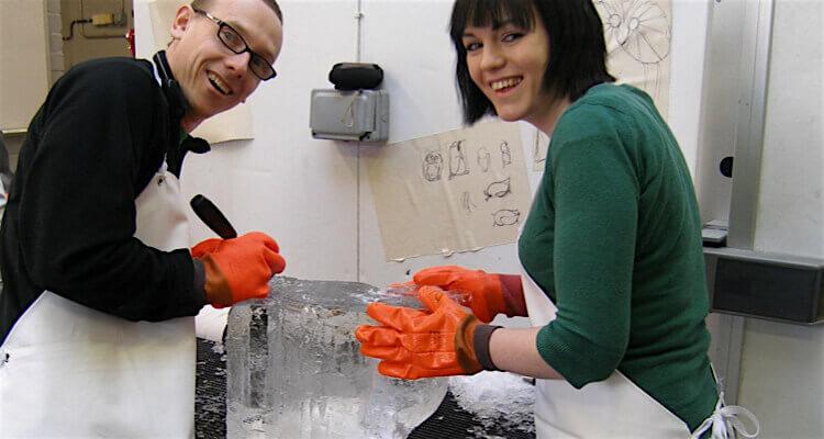 ice sculpting