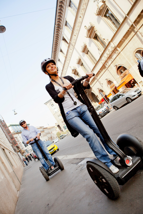 Can you ride a Segway on the road?