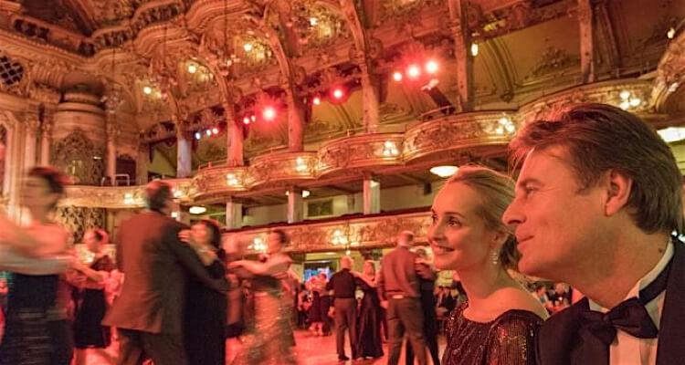 Blackpool Tower dance off