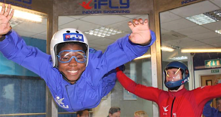 indoor skydive new years resolution