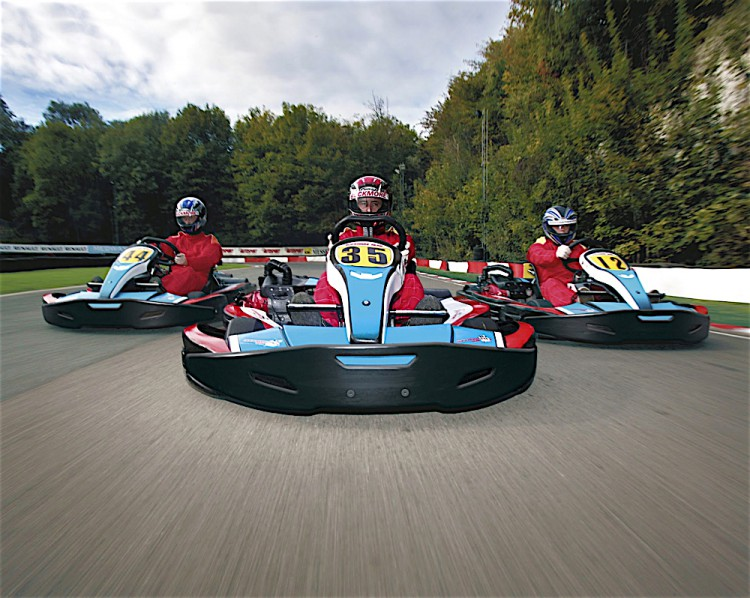 Best karting tracks in the UK