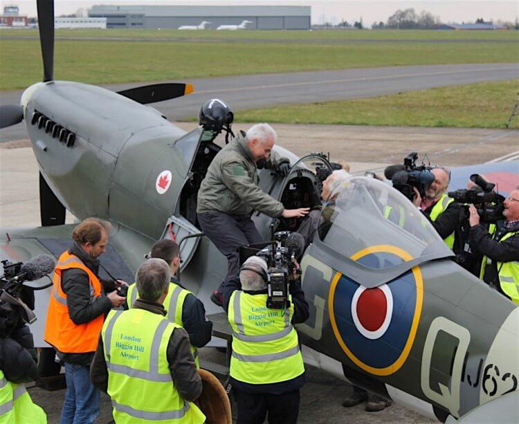 Spitfire RAF anniversary
