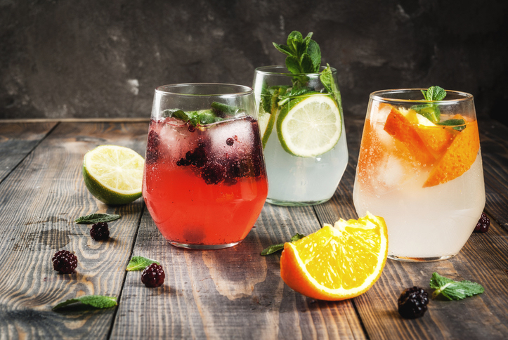 Different ways to serve your G&T