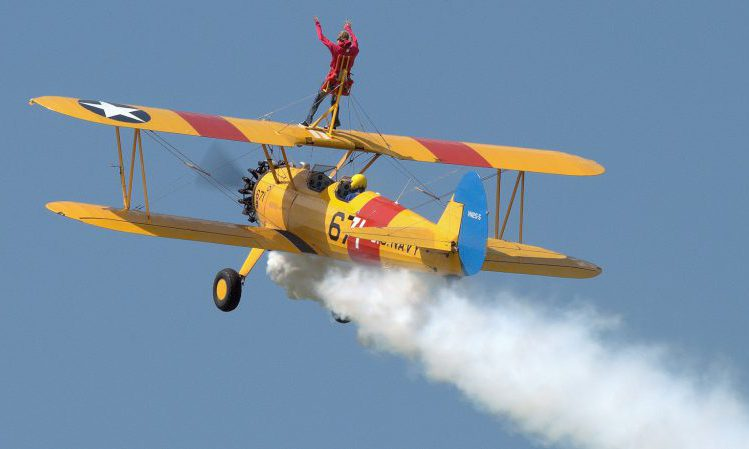 wing walking experiences