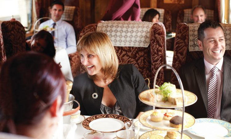 steam train dining experiences