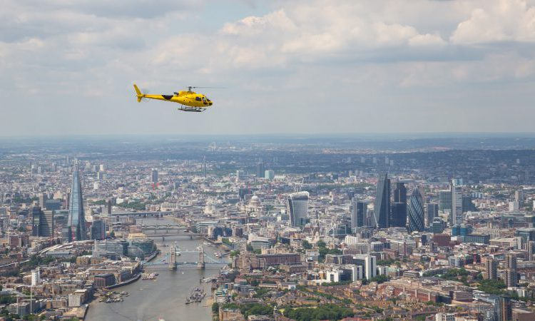 helicopter rides london