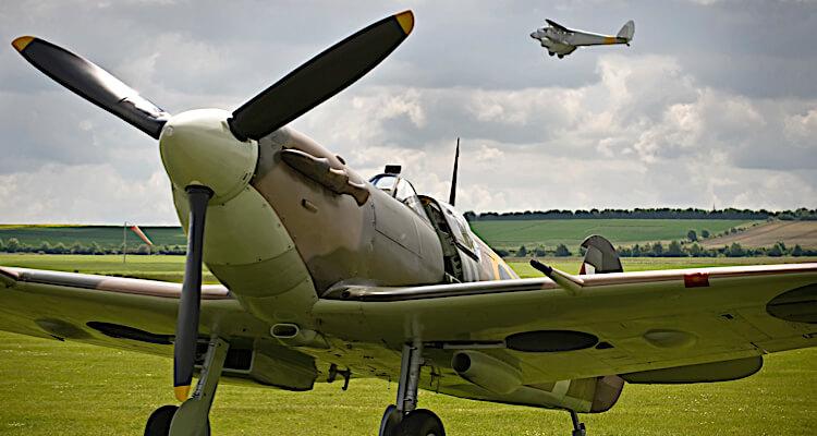 spitfire flying 12th april
