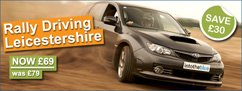 Rally Driving Leicestershire Offer