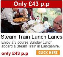 Steam Train Lunch Lancs