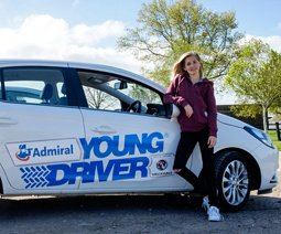 Admiral Young Driver Lessons Experience Gifts