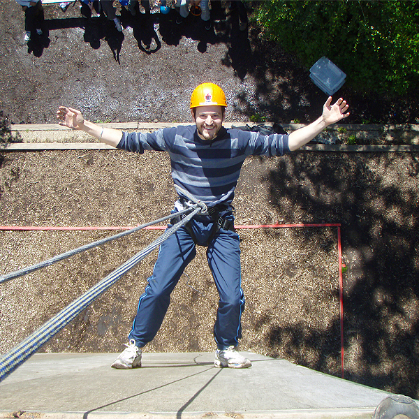 Abseiling In East Sussex