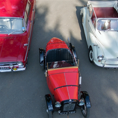 Classic Vintage Cars Driving Experience Days Into The Blue