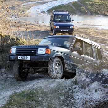 4x4 driving: