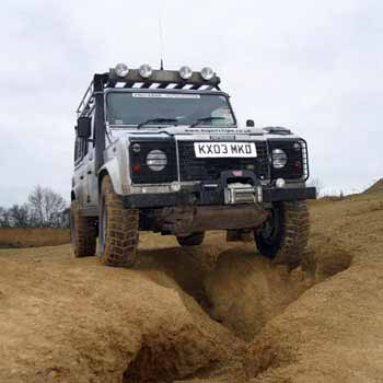Landrover Off Roading 4x4 Experience Northamptonshire