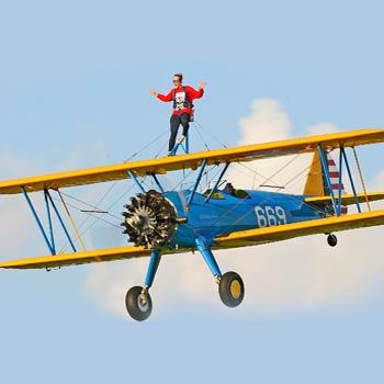 Wing Walking Essex Picture